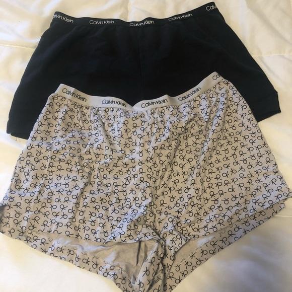 calvin klein comfy shorts